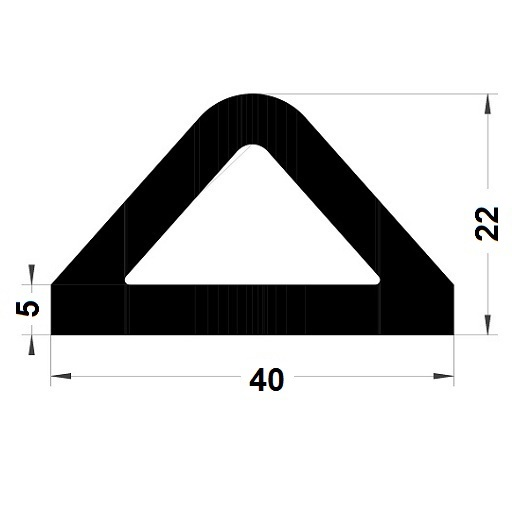 Défense de quai - 40 x 22 mm