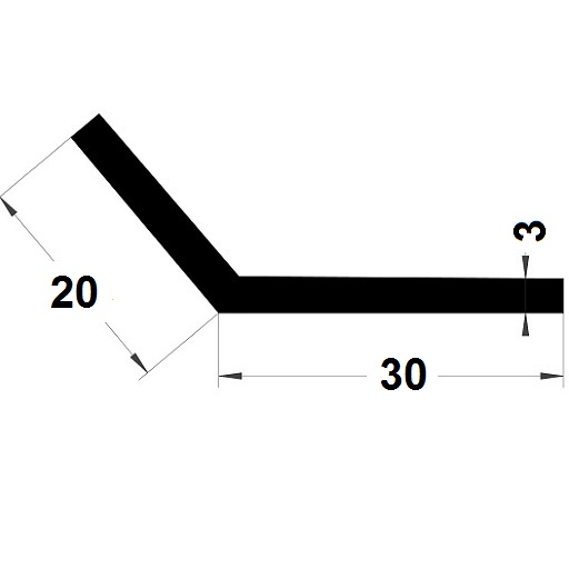 L Profile - 20x30 mm