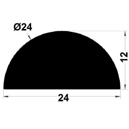 Joint de cuve - 12x24 mm