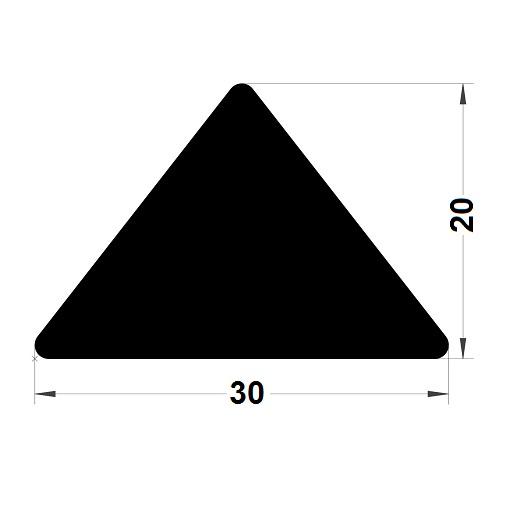 Trapèze - 20x30 mm