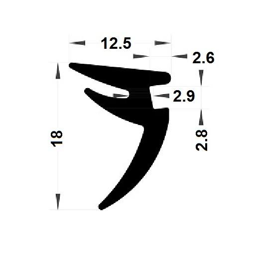 Wedge gasket - 12,50x18 mm