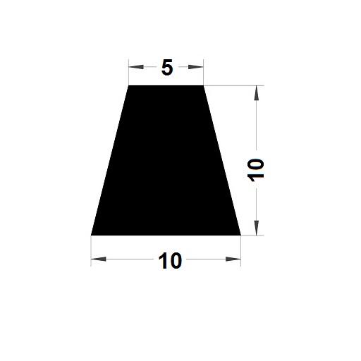Trapèze - 10x10 mm