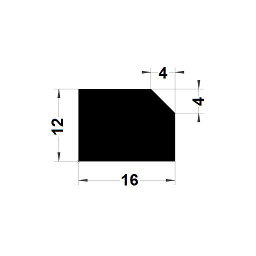 Trapèze - 12x16 mm