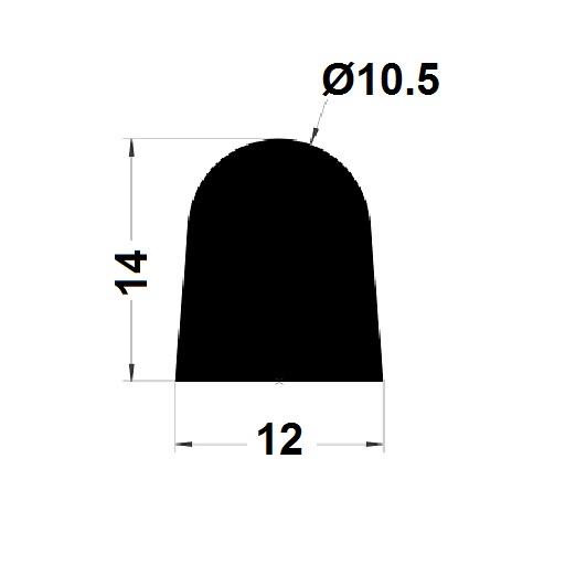 Joint de cuve - 14x12 mm