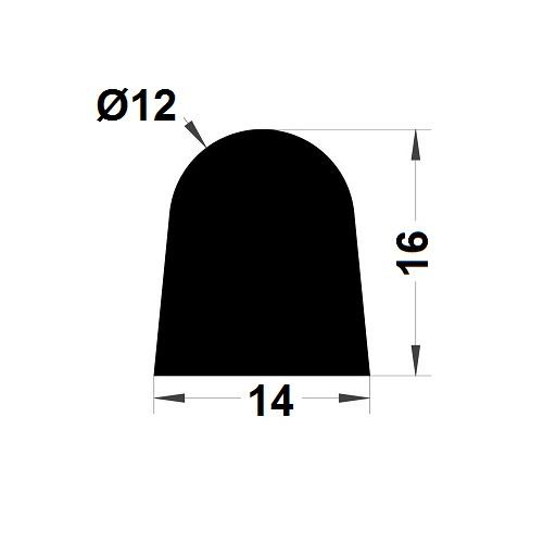 Joint de cuve - 16x14 mm