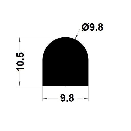 Joint de cuve - 10,50x9,80 mm