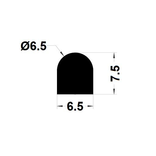 Joint de cuve - 7,50x6,50 mm