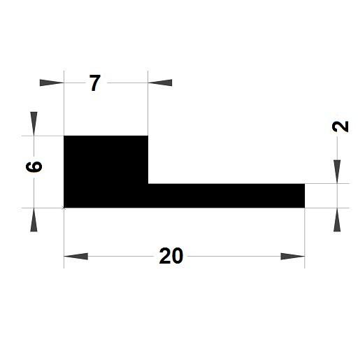 Note de musique - 6x20 mm