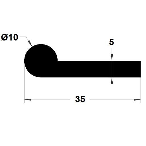 Note de musique - 10x35 mm