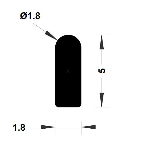 Joint de cuve - 4,20x1,80 mm