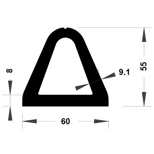 Défense de quai - 52x60 mm