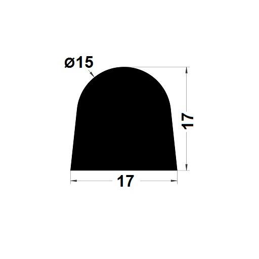 Joint de cuve - 17x17 mm