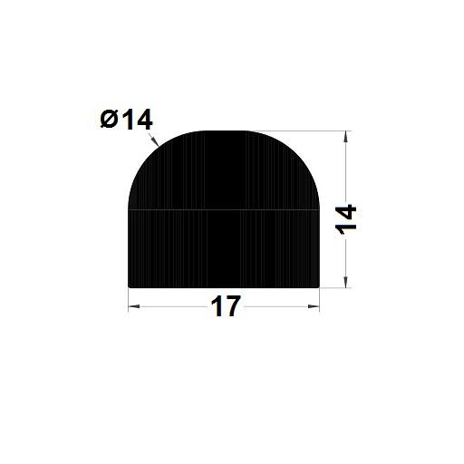 Joint de cuve - 14x17 mm