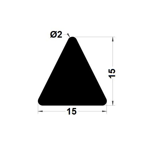 Trapèze - 15x15 mm