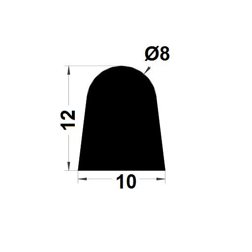 Joint de cuve - 12x10 mm