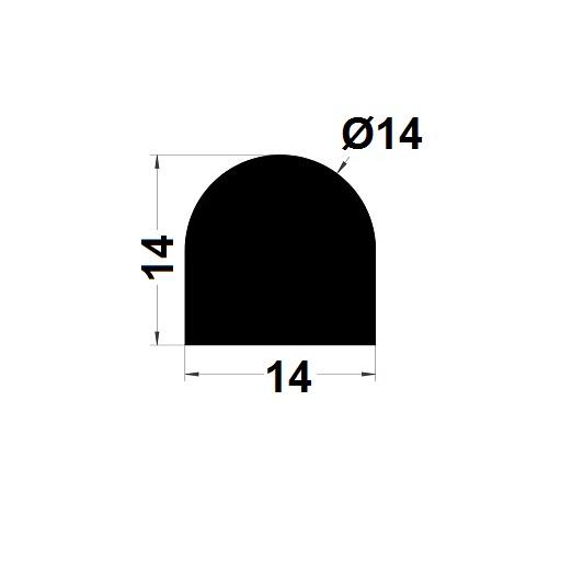 Joint de cuve - 14x14 mm