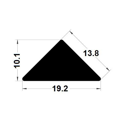 Trapèze - 10,1x19,2 mm