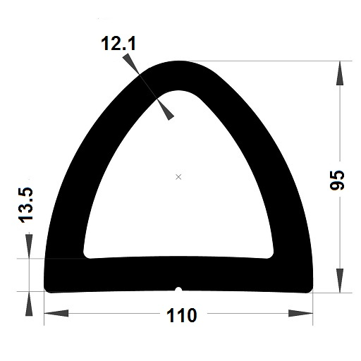 Défense de quai - 95x110 mm