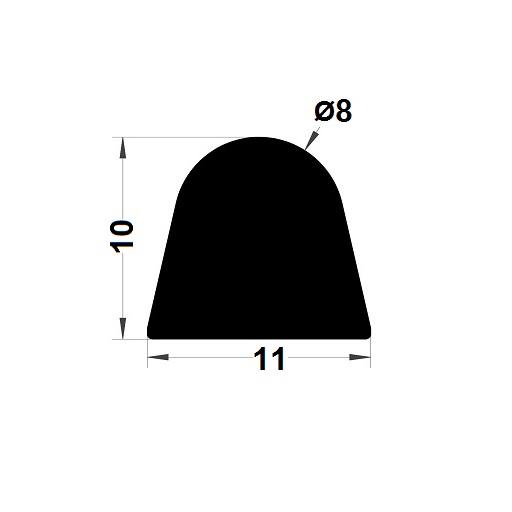 Joint de cuve - 10x11 mm