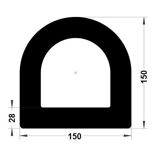 Défense de quai - 150x150 mm