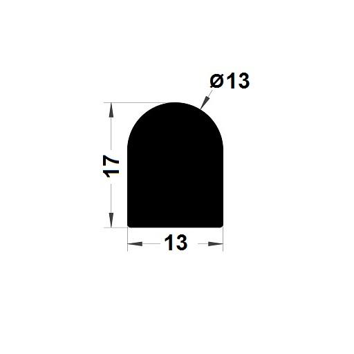 Joint de cuve - 17x13 mm