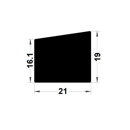 Trapèze - 21x19 mm