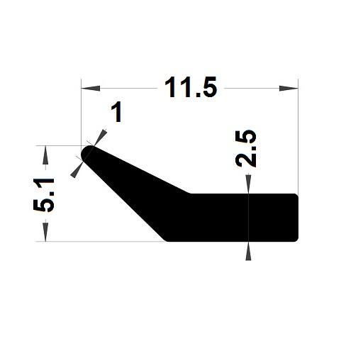 Profilé en L - 5,10x11,50 mm