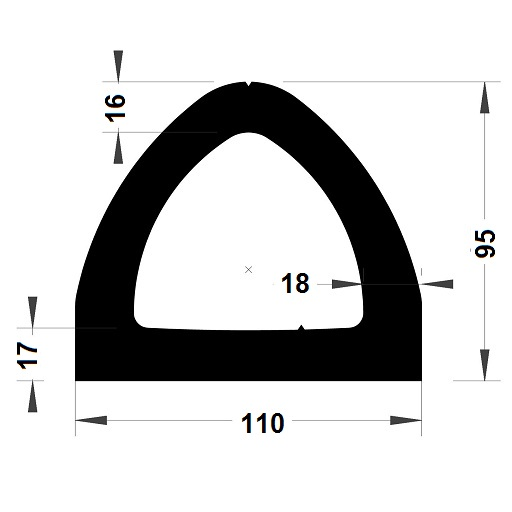 Défense de quai - 99x110 mm