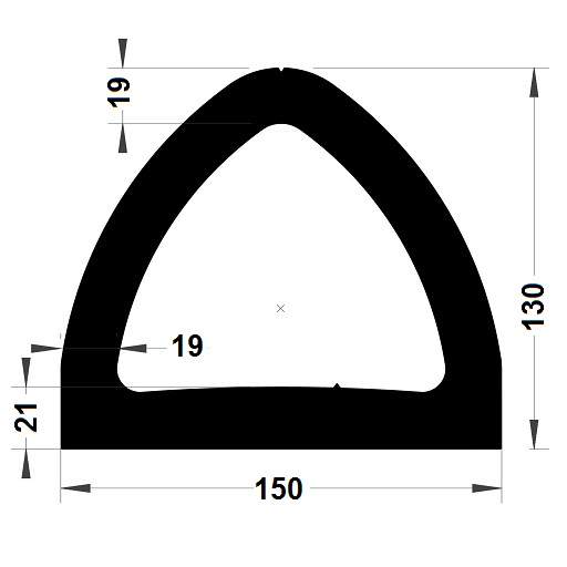 Défense de quai - 130x150 mm
