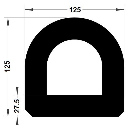 Défense de quai - 125x125 mm