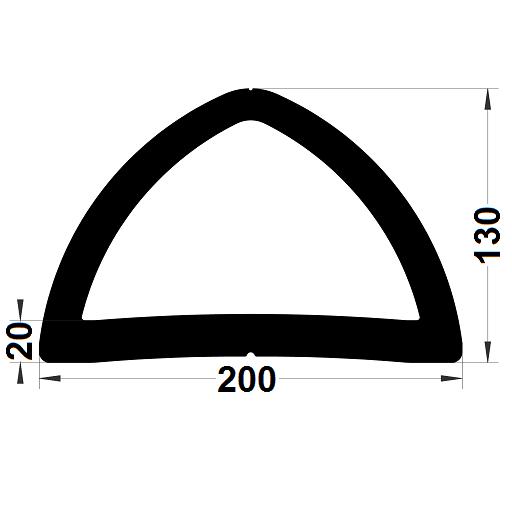 Défense de quai - 130 x 200 mm