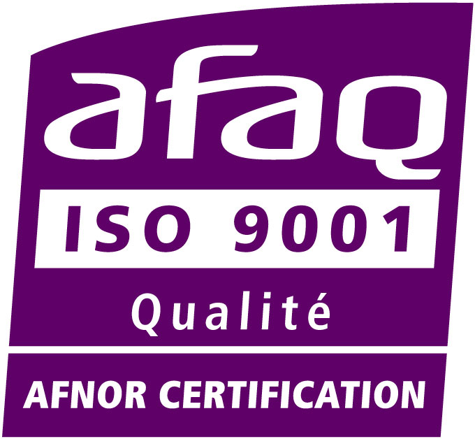 Logo Certification AFAQ ISO 9001
