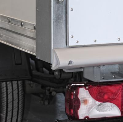 Defense de quai sur camionnette